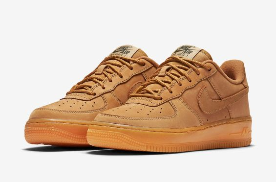 8ebcdf803762c The Nike Air Force 1 Low GS Flax Just Dropped Overseas