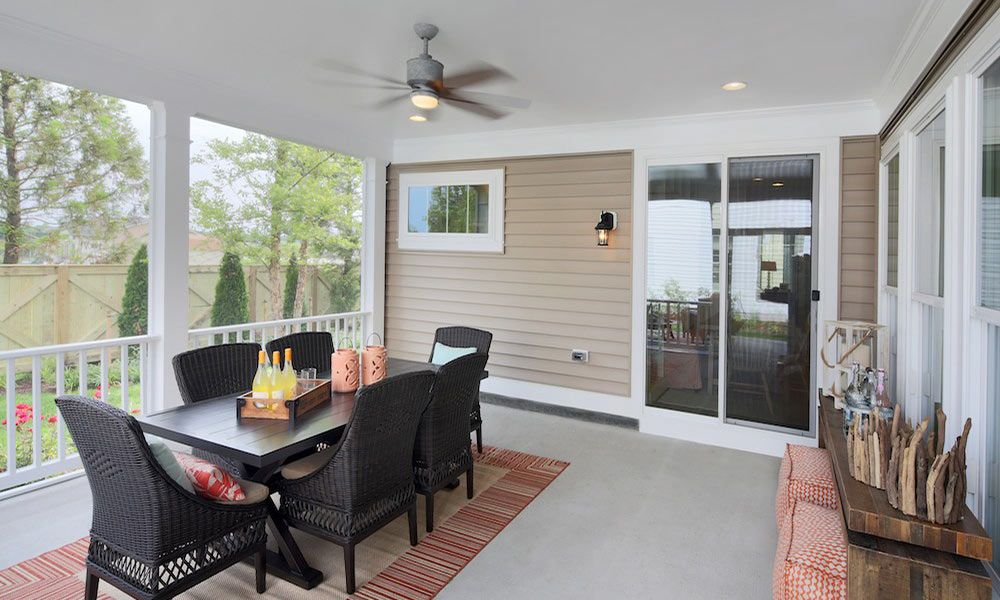 Perfect indoor/outdoor living at the Beachcomber model by ... on Outdoor Living Sale id=20502