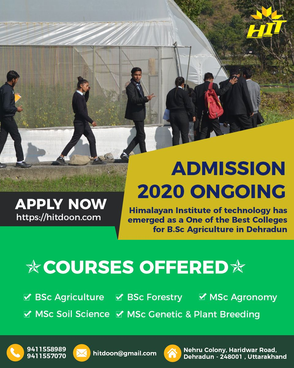 Pin on college of agriculture science in dehradun