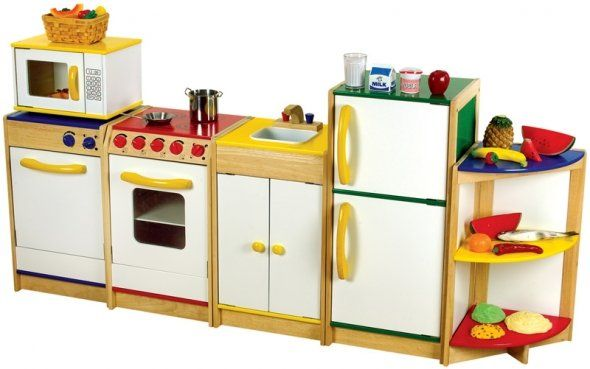 Kids play kitchen set kid stuff pinterest kitchen for Kitchen set for babies