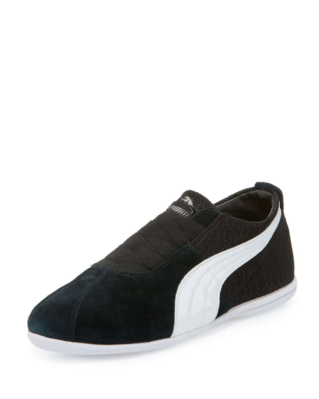 super popular 275ba 4d25f Puma X Alexander McQueen Eskiva Low Mesh Sneaker, Black
