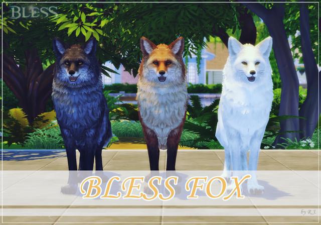 Fox By Ryan Jayden Fuchs Haustier Die Sims Die Sims 4