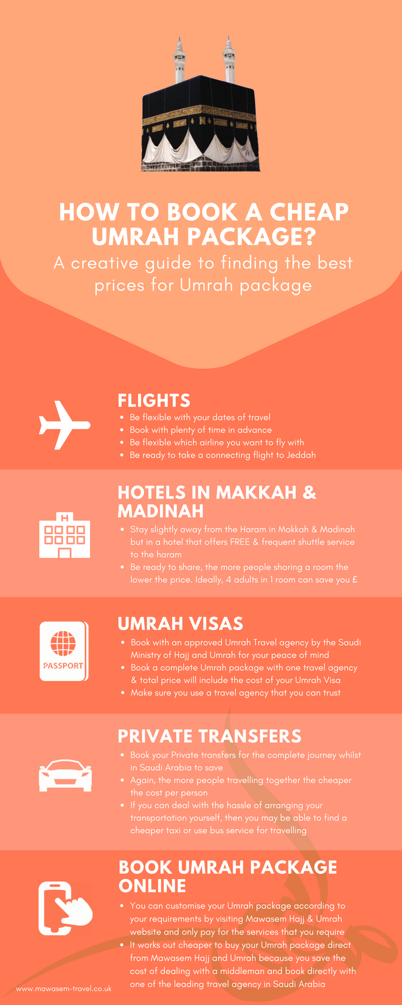 Have you ever wondered how can book you book a cheap Umrah