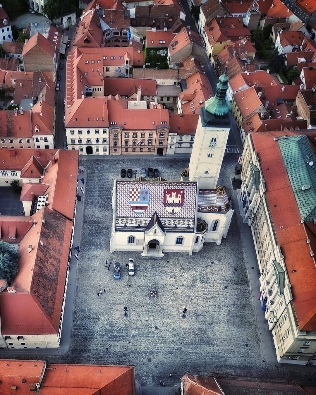 Franv On Instagram Zagreb Croatia St Mark S Square Trg Svetog Marka Constitutes The Heart Of The Upper Town Hav Zagreb Croatia Zagreb Croatia Travel