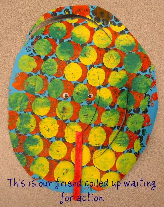 Fun Art 4 Kids: Interactive Spring Bubble Snakes  Nice for