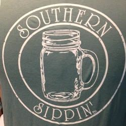 Southern Sippin - Mason Jar Long Sleeve Comfort Colors Shirt by SassyandSavvySC on Etsy