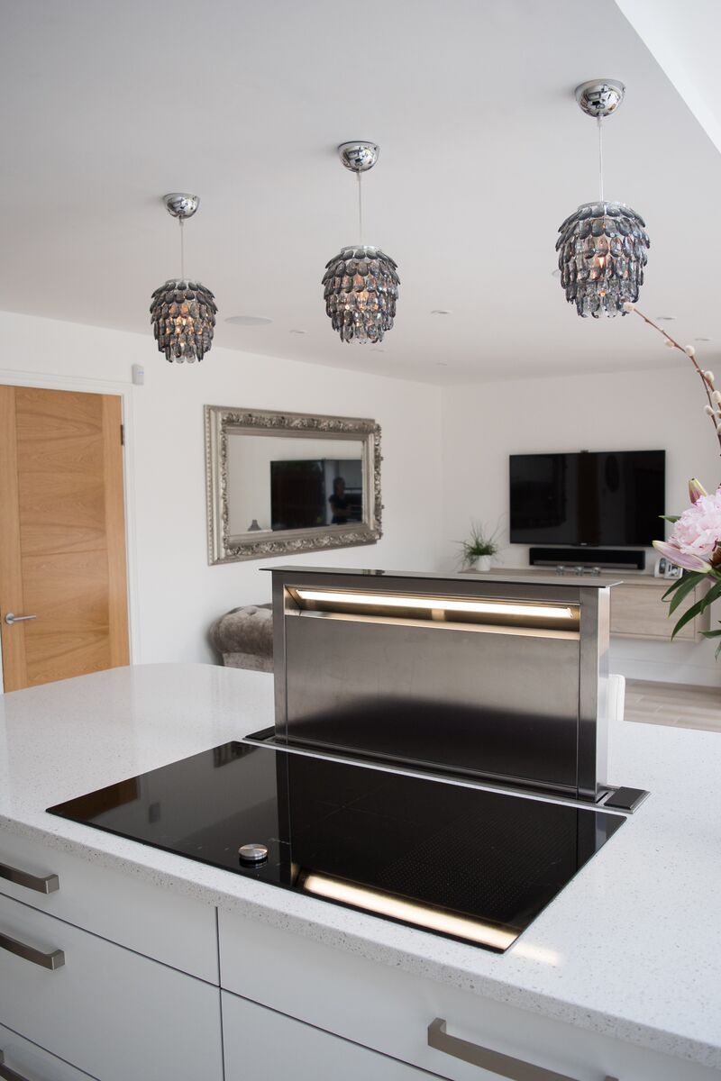 Neff Downdraft Supplied And Fitted By Kitchen Ergonomics Www