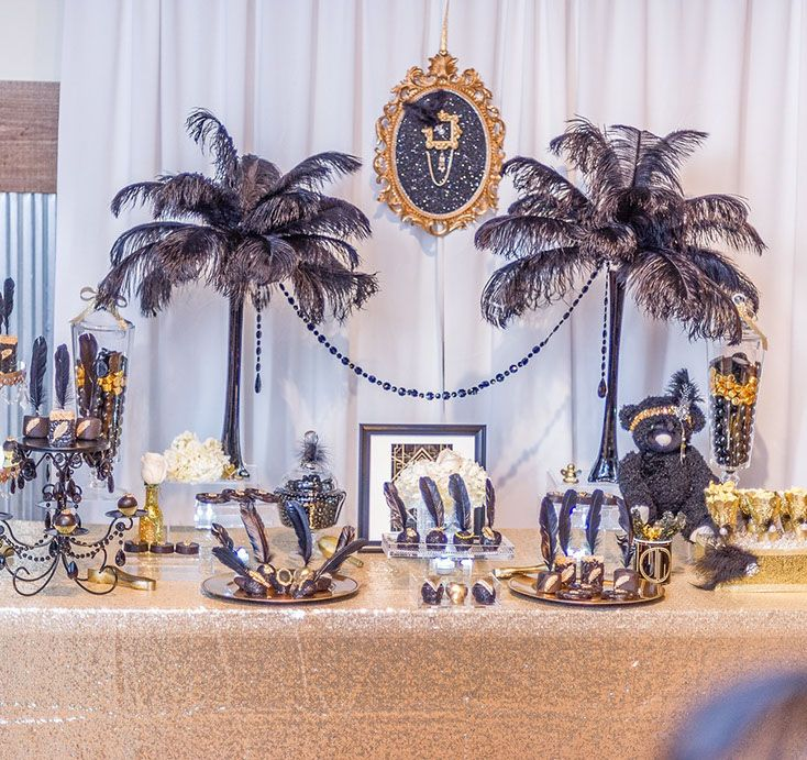 Great gatsby baby shower by primrose couture events for Deco decorations