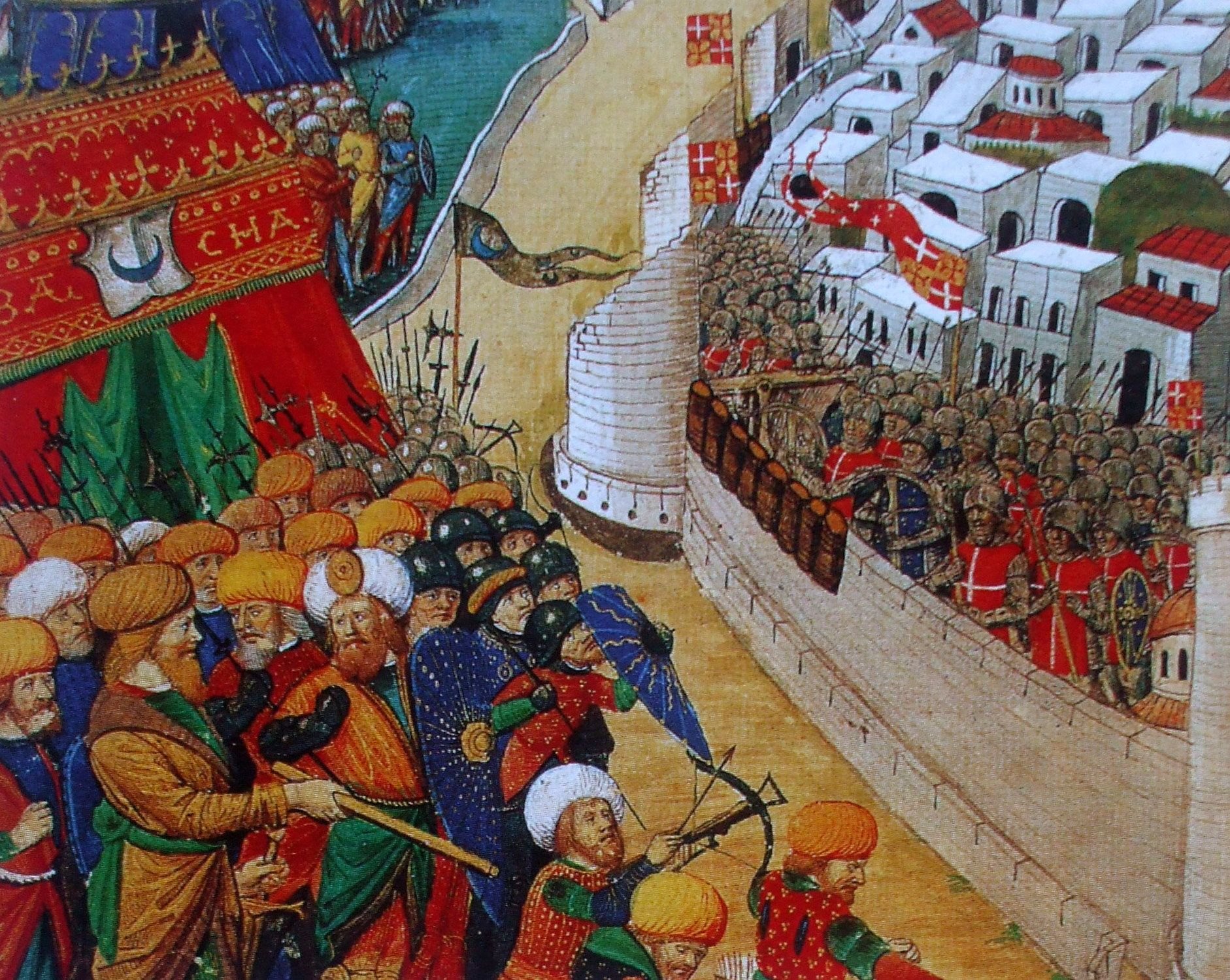 9 In 1522 Suleyman Ii Attacked Rhodes With A Large Fleet Of Ships And Men After Six Months Of Defending Against The Onslaught Th La Valette Rhodes Therese