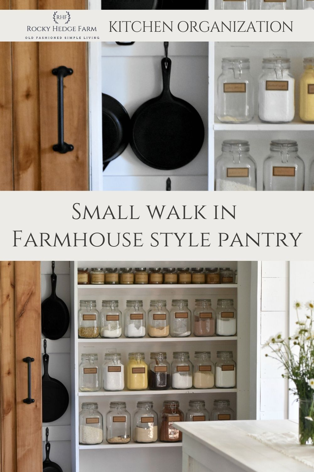 Small Narrow Walk In Pantry Rocky Hedge Farm In 2020 Style Pantry Pantry Inspiration Small Decor