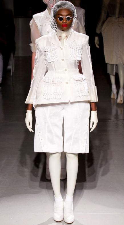 Scary!  10 Fashion Week Fails from the NYFW Spring 2014 Runways | Divine Caroline  #divinecaroline #nyfw #bad #nyfw2014 #fails