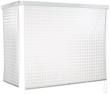 Eck Duschrollo 137 X 62 Cm Weiss Kreisel Von Eco Dur Duschrollo