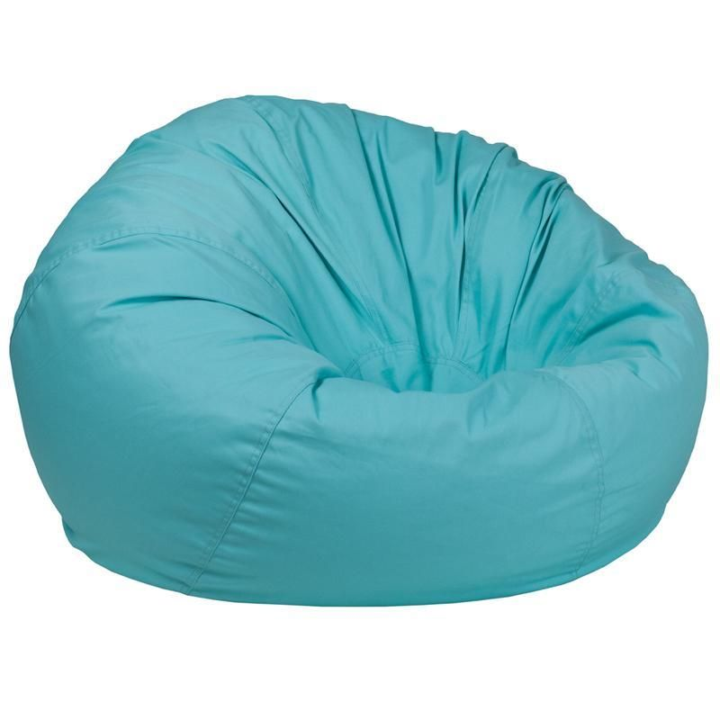 Oversized Solid Mint Green Bean Bag Chair Bean Bag Chair Bean