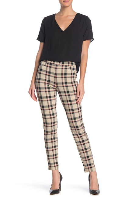 Sanctuary | Slim Ponte Plaid Pants (Regular & Petite #nordstromrack