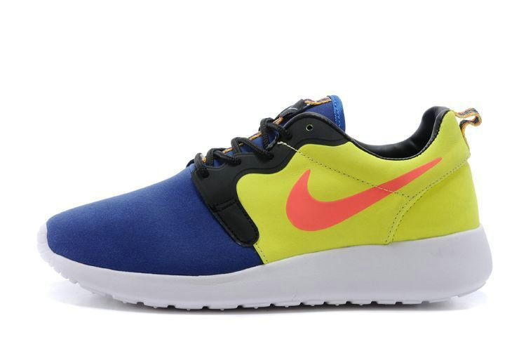 superior quality e71bc 96287 Latest Mens Nike Roshe Run Hyperfuse 3M 669689 400 Royal Blue Volt Hyper  Punch