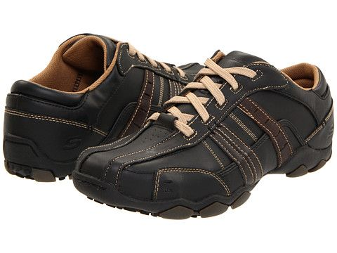 SKECHERS Diameter-Vassell Black/Tan - Zappos.com Free Shipping BOTH Ways $74