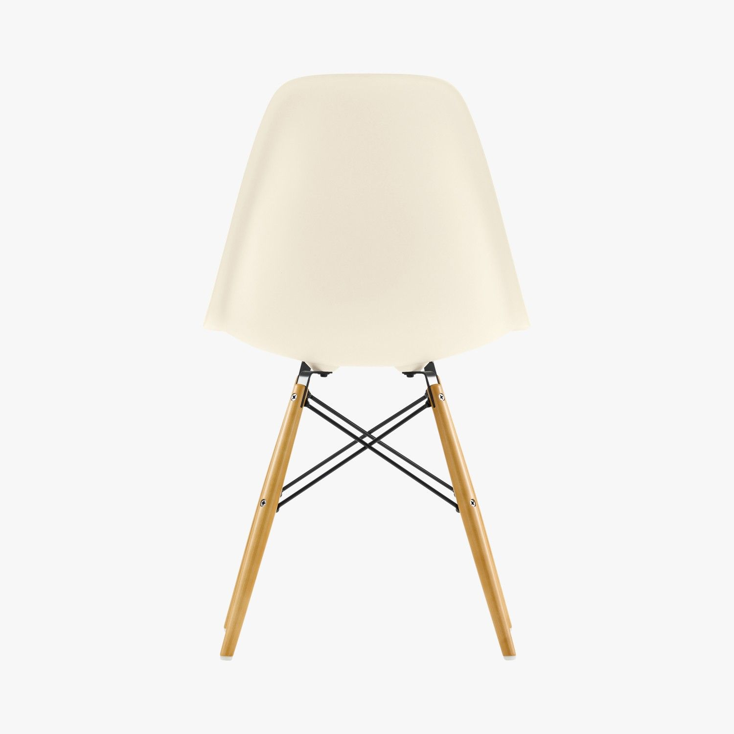 Chaise DSW Plastic Chair Blanche, Charles & Ray Eames, 1950 - VITRA ...