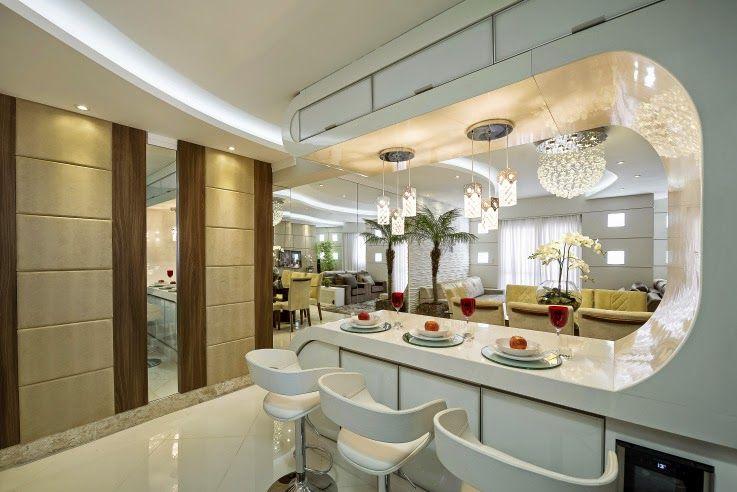 Apartamento decorado moderno e maravilhoso conhe a todos for Interiores apartamentos modernos