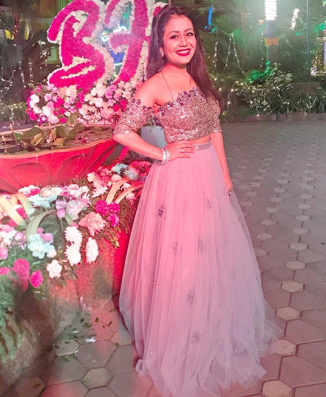 Neha Kakkar Her Outfits Are Always Bomb Neha Kakkar Dresses Dresses Indian Designer Outfits