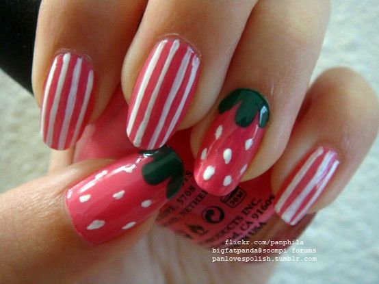 strawberry & stripes--cute
