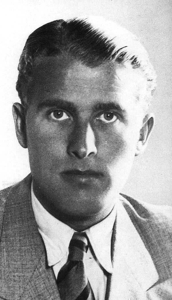 Wernher Von Braun Young Werner Von Braun In The Late 1920s