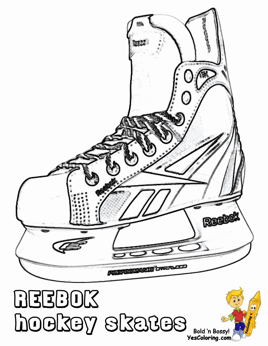 Hockey Player Coloring Page Awesome Hat Trick Hockey Coloring