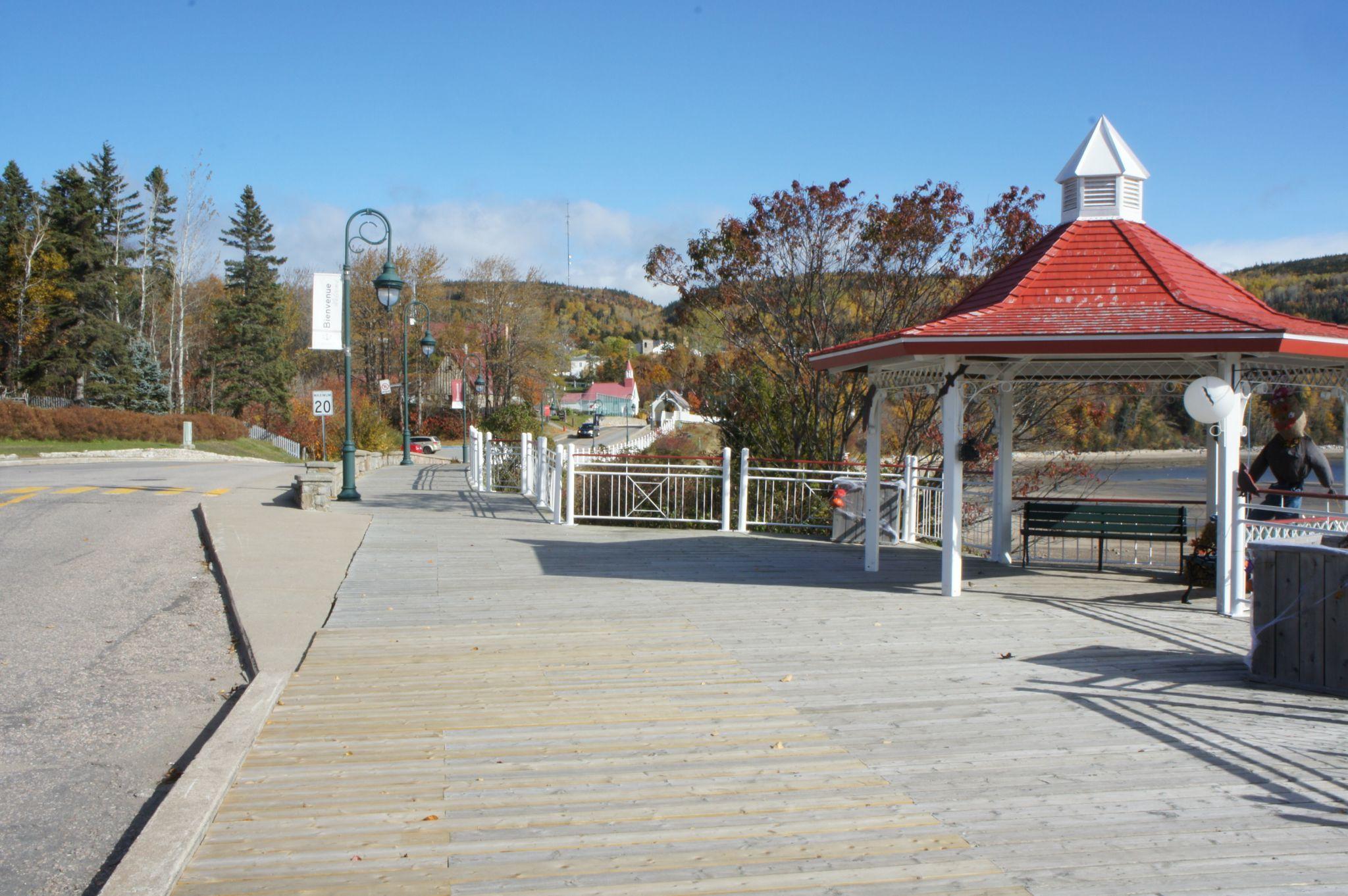 La promenade du bord de l'eau, partie nord.