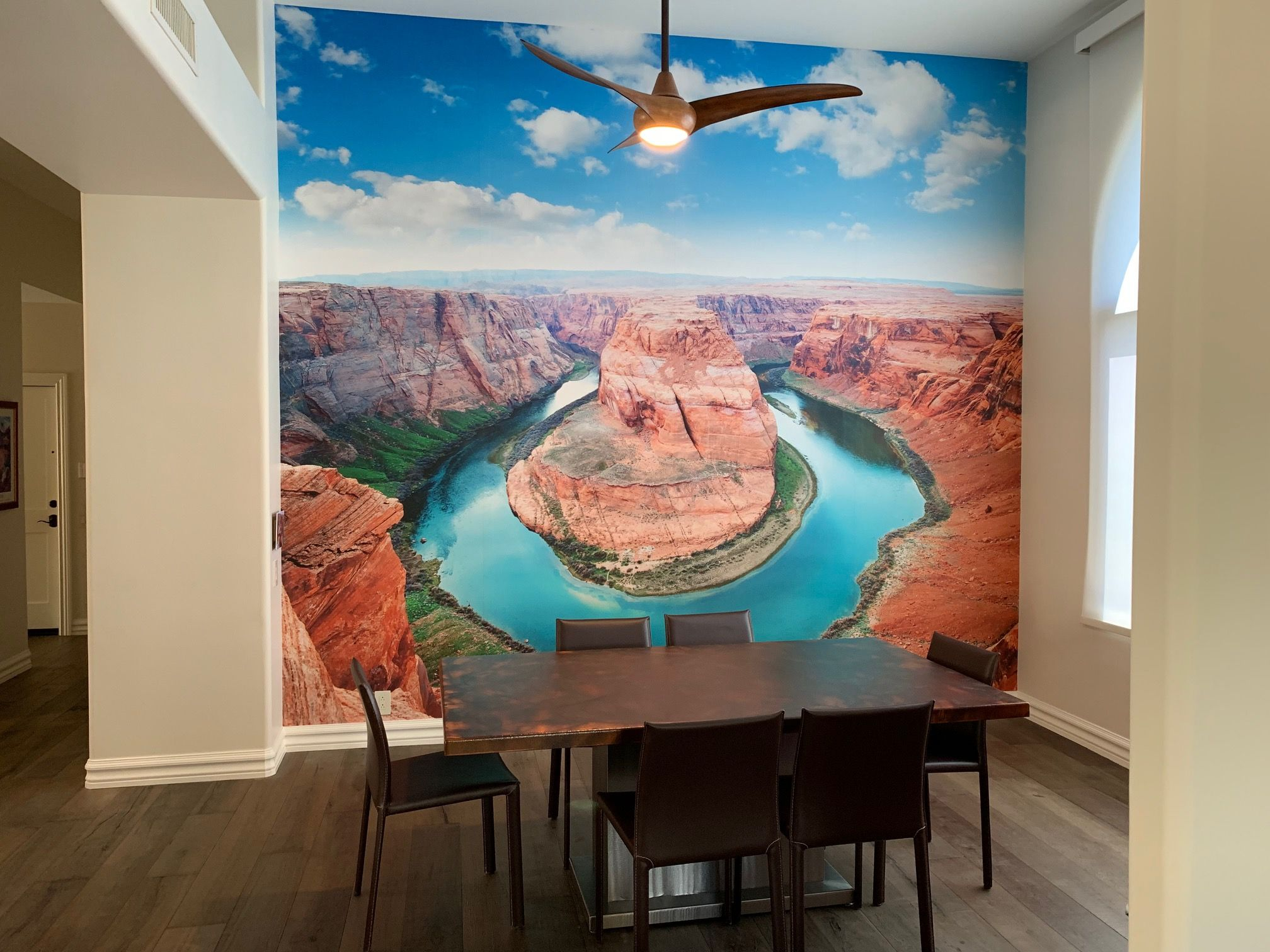 Dining Room Ideas Landscape Wall Mural Custom Wall Murals Custom Photo Wallpaper Wall Murals