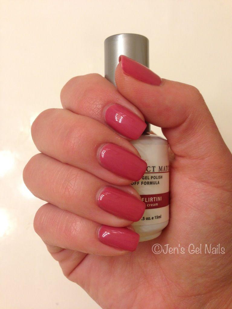 LeChat Perfect Match Gel Polish - Flirtini...current color - Nails ...