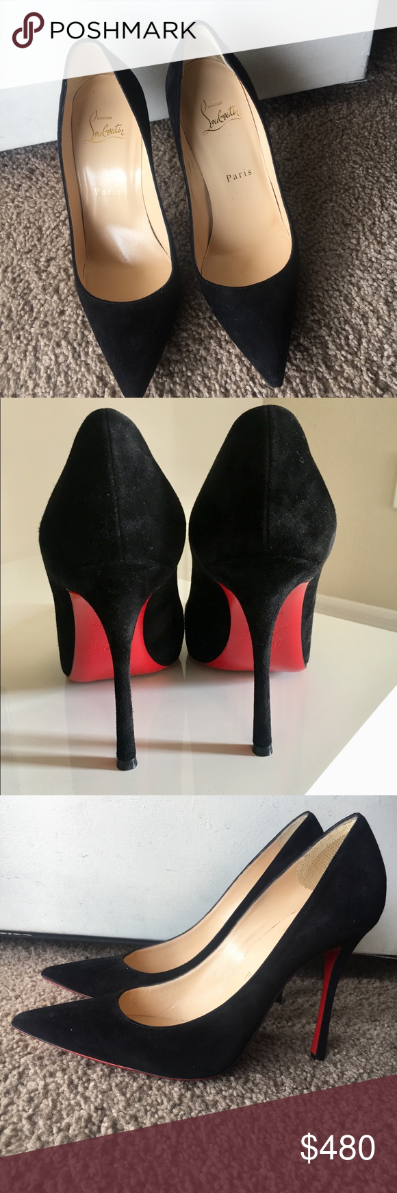 4654552d3fa1 Christian Louboutin So Kate 120 mm Suede Pumps So Kate 120 mm - Black Suede  - Size 37 US 7 - Used a couple times - WITHOUT BOX or DUST BAG!