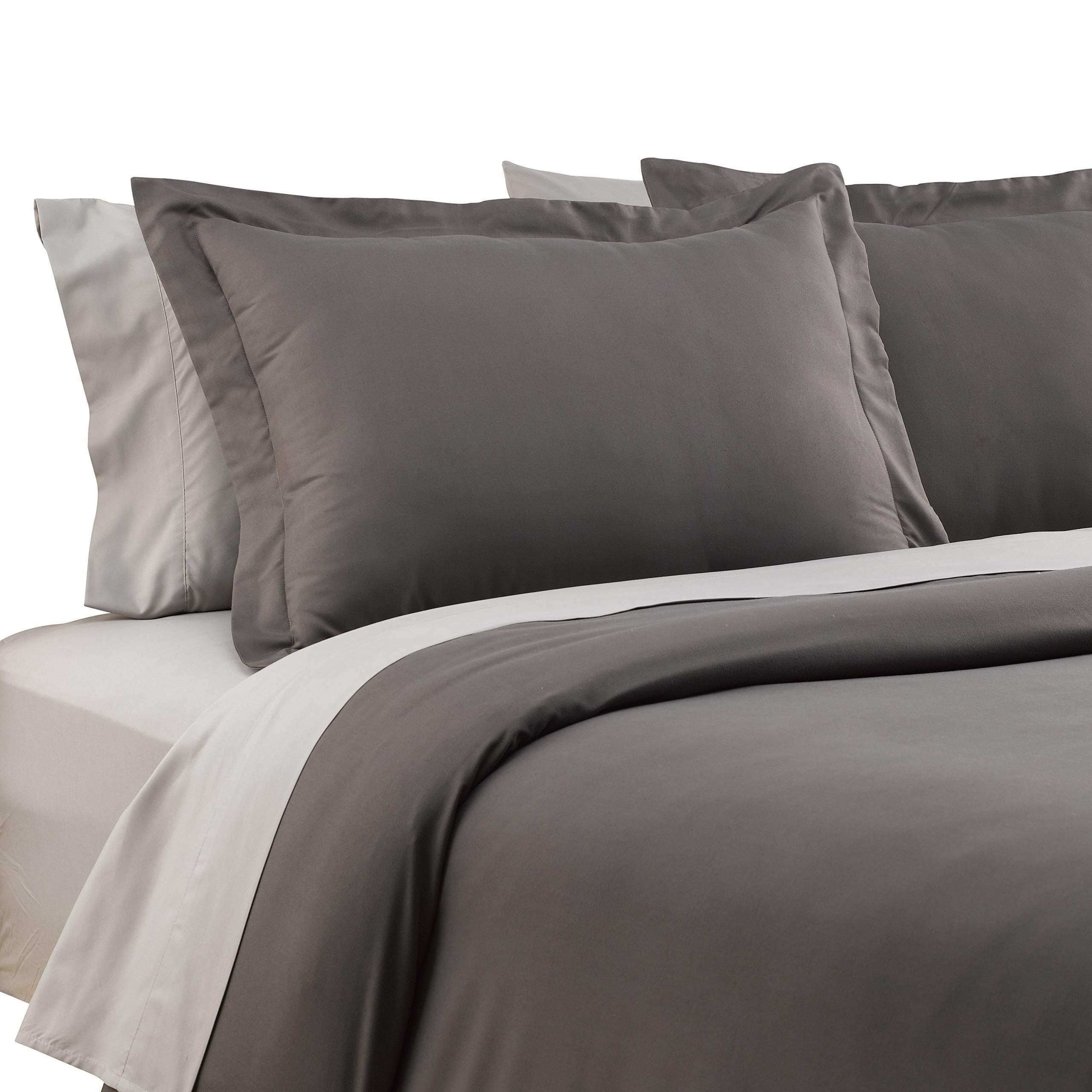 Karalai Grey Duvet Cover Queen Soft Luxurious Hotel Quality Bedding Dark Grey Queen Be Sure To Check Out This Awe Queen Size Bed Sets Queen Bedding Sets Bed