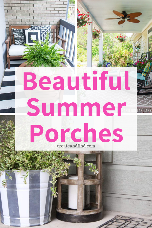 Gorgeous Front Porch Decorating Ideas You Ll Love This Summer Summer Porch Decor Summer Porch Front Porch Decorating