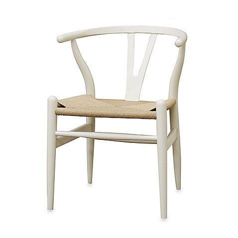 Strange Baxton Studio Wishbone Wood Y Chair Bed Bath And Beyond Ibusinesslaw Wood Chair Design Ideas Ibusinesslaworg