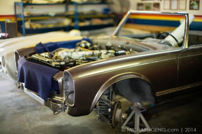 Silver Star Restorations Mercedes Benz Specialist W113 230