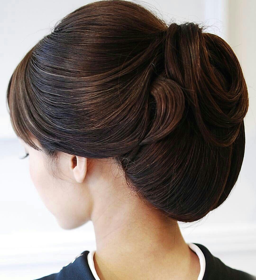Pin by Preksha Pujara on Western Low Bun Hairstyles | Hair ...