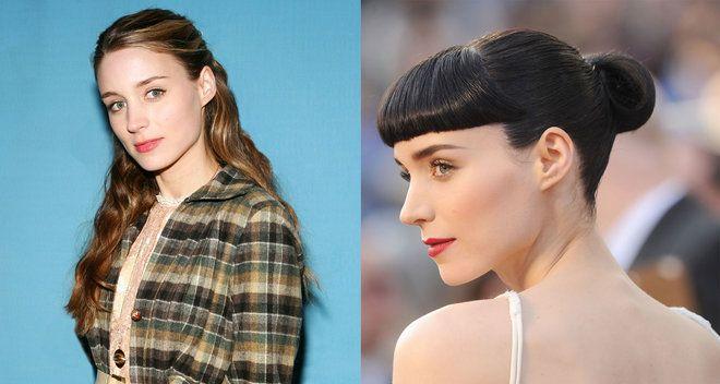 Rooney Mara hair color transformation