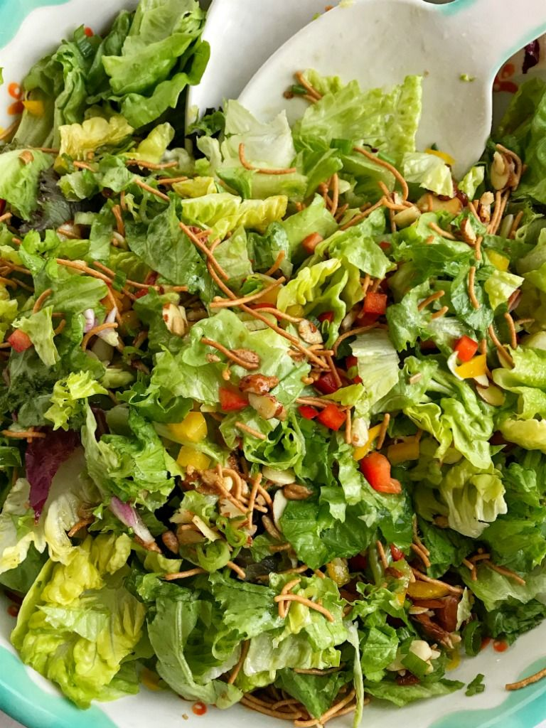 company green salad is a perfect weeknight side dish or