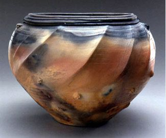 Michael Berkley Parallel Lives Pit Fired Pottery