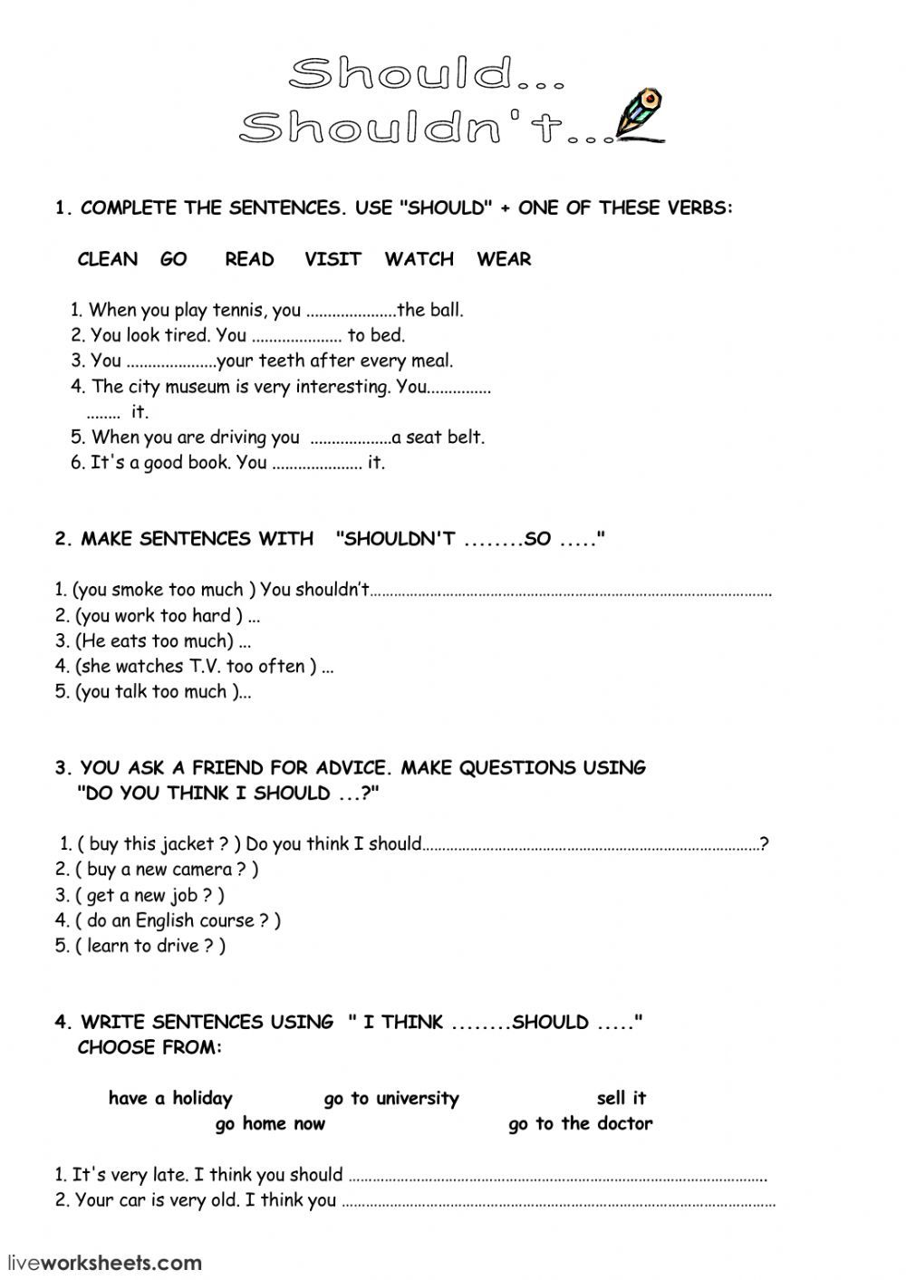 Contoh Soal Modal Auxiliary : contoh, modal, auxiliary, Modal, Verbs, Online, Worksheet, Intermediate., Exercises, Download, Work…, Ejercicios, Ingles,, Vocabulario