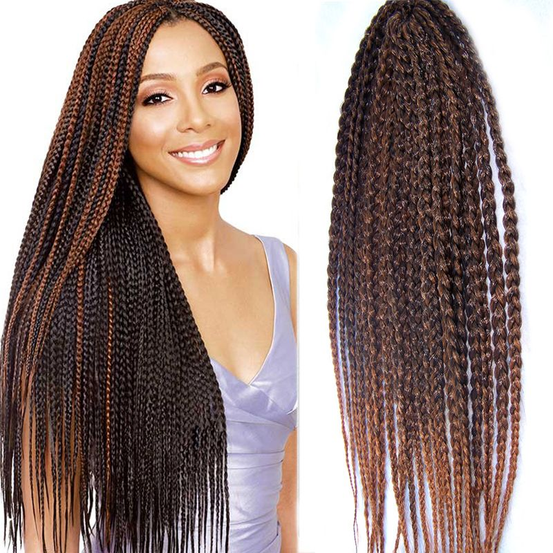 Find more bulk hair information about new and popular 3x box braid find more bulk hair information about new and popular 3x box braid crochet hair braids synthetic pmusecretfo Gallery