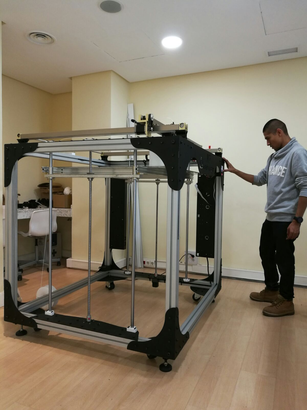 M3 Large Scale 3D Printer See how you could get a good
