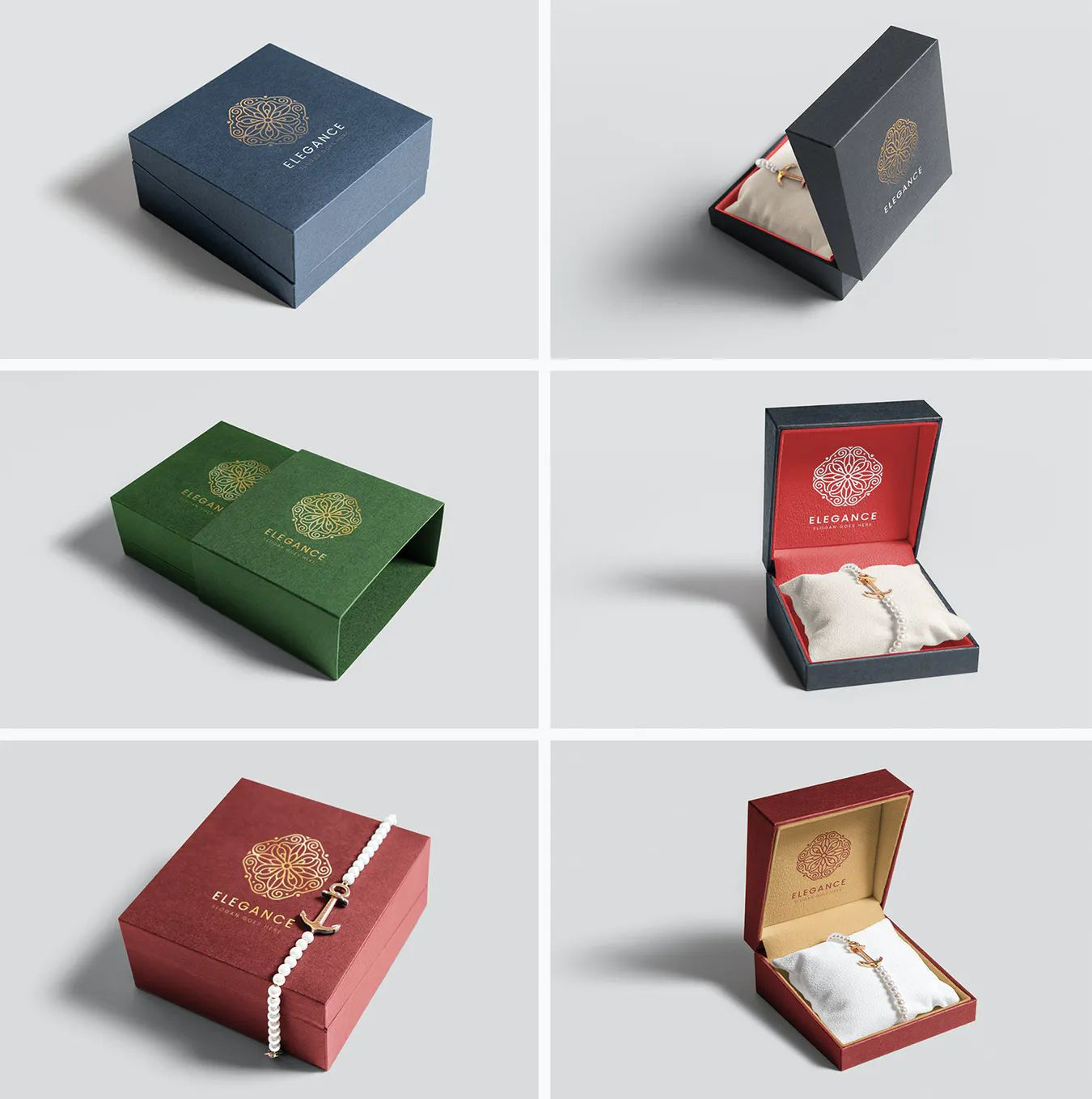 Download Jewelry Packaging Box Mockups Jewelry Packaging Box Box Mockup Jewelry Packaging