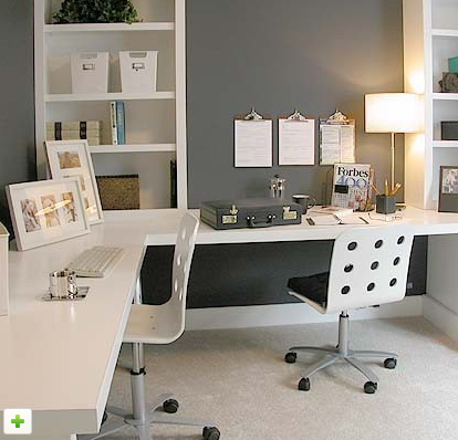 home office solution. Cute And Inexpensive Office Solution When Space Is Tight Home