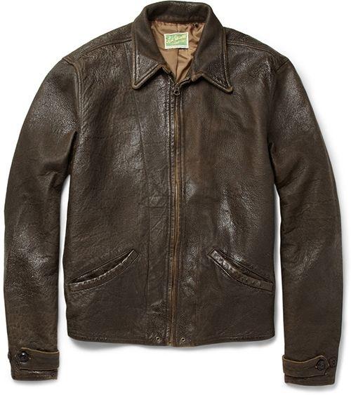 Levi S Vintage Clothing 1930s Leather Jacket Distressed Leather Jacket Vintage Leather Jacket Leather Jacket