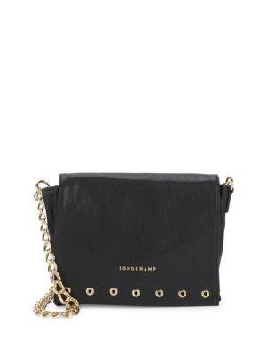 LONGCHAMP Paris Rocks Leather Crossbody Bag.  longchamp  bags  shoulder  bags  leather baab77370d70d