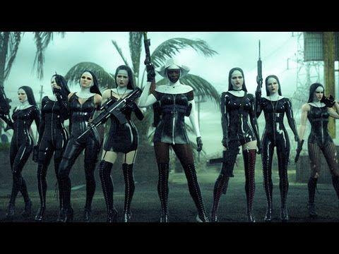 Hitman Absoltion Saints Trailer Nuns With Guns Chicas De Motocross Chicas Del Ejercito Monja