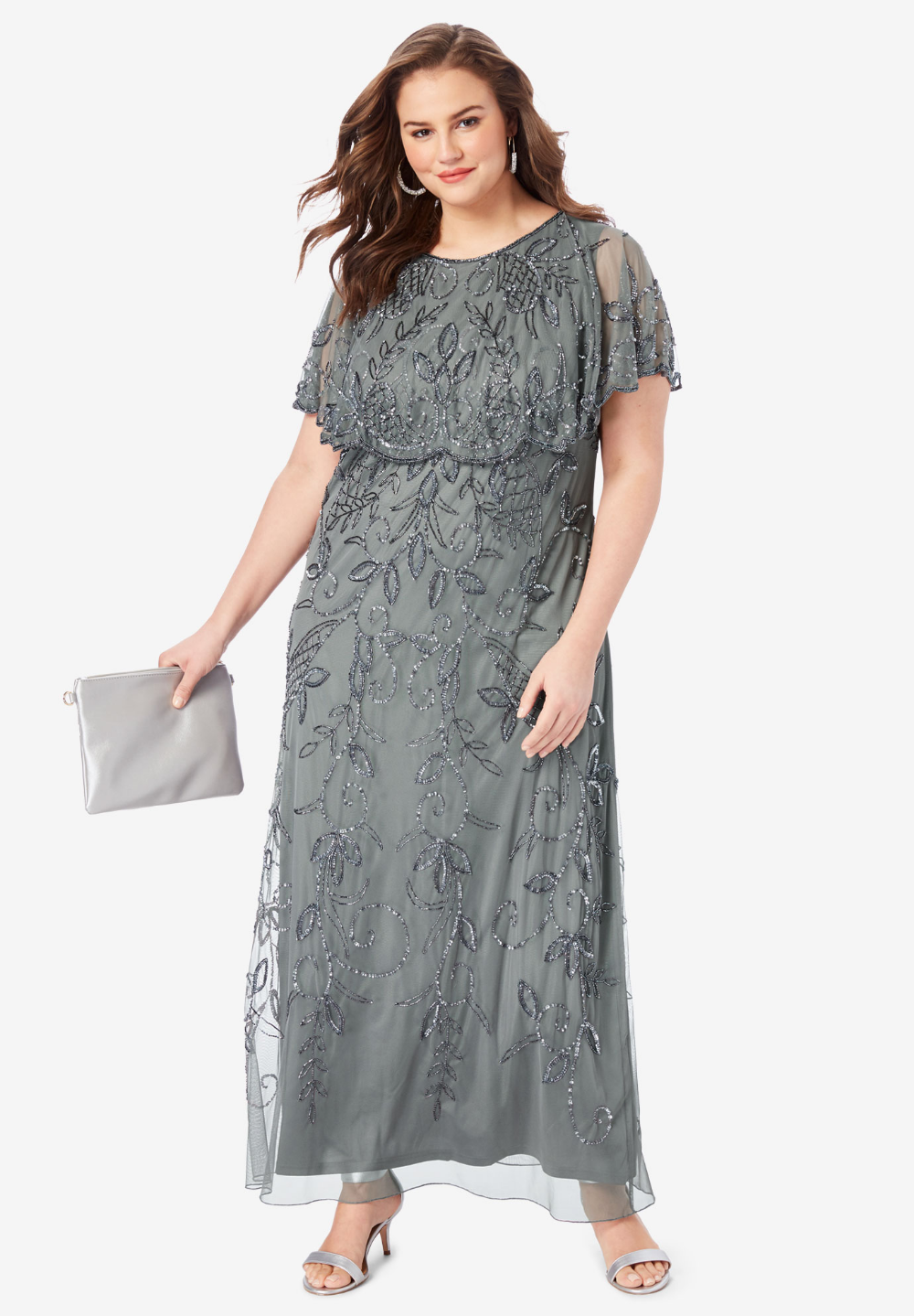 Glam Maxi Dress| Plus Size Formal & Special Occasion Dresses ...
