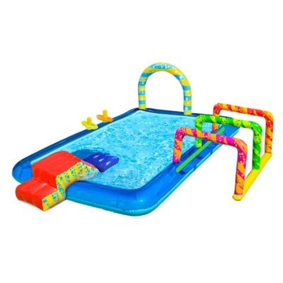 Banzai Obstacle Course Activity Pool Bed Bath Beyond Little