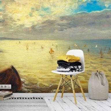 Bad Tapete \ Fototapeten für das Bad wall-artde Fototapete - küchenspiegel mit fototapete