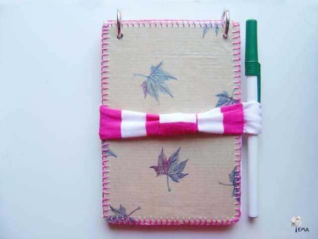 Resultado de imagen para cuaderno con material reciclado